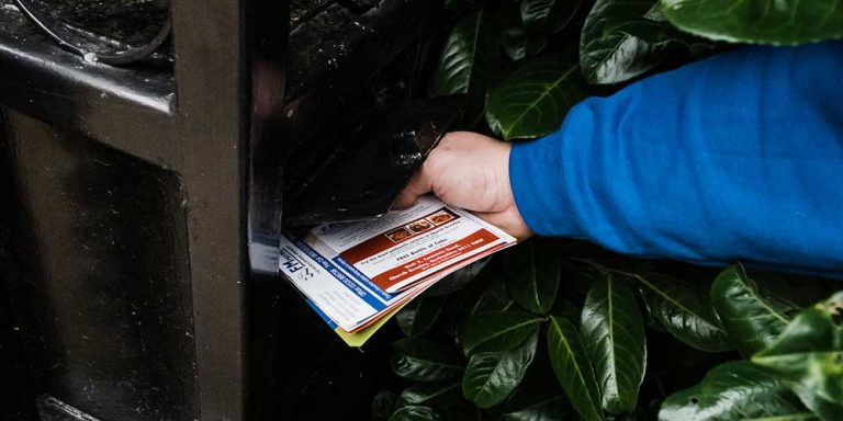 Leaflet Distribution Service Covering Swadlincote, Burton and Ashby